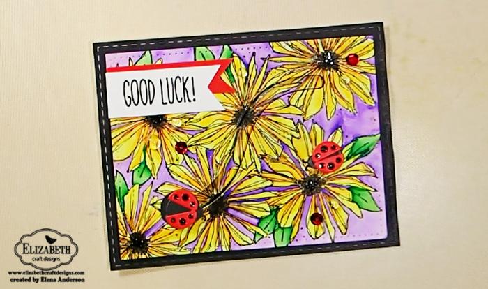 Lucky Ladybug Spinner Card - Step 7