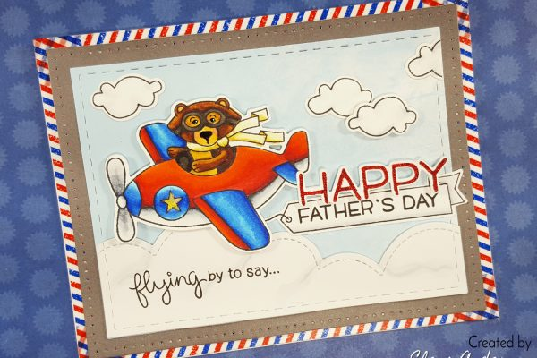 Winston Takes Flight Father's Day Card