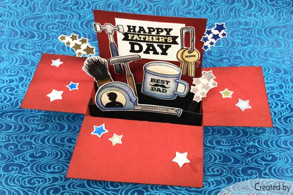 Altenew Tool Box Father's Day Card