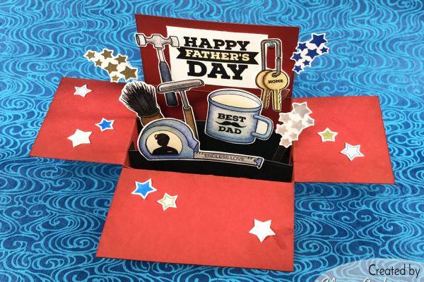 Altenew Tool Box Father's Day Card