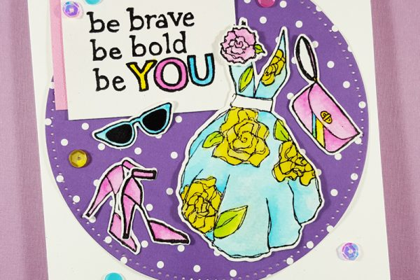 Elizabeth Craft Designs Be You Card