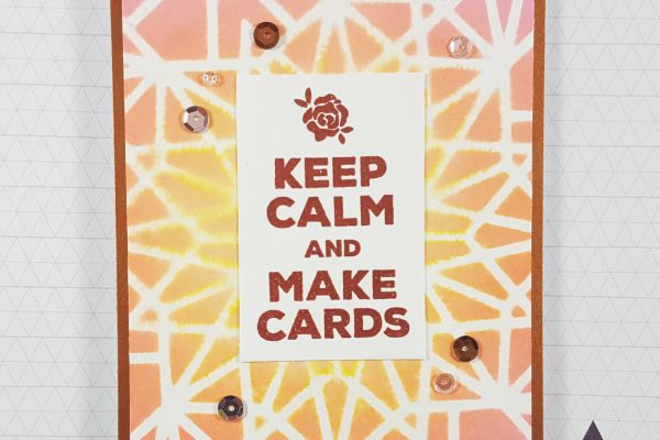 Keep Calm & Make Cards with Altenew and Distress Oxides