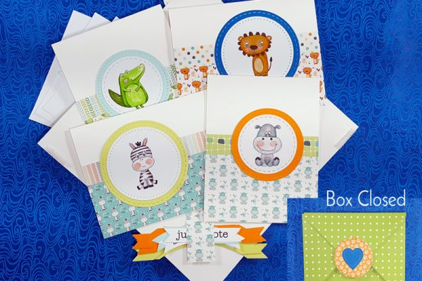 Baby Shower Thank Yous Card Kit