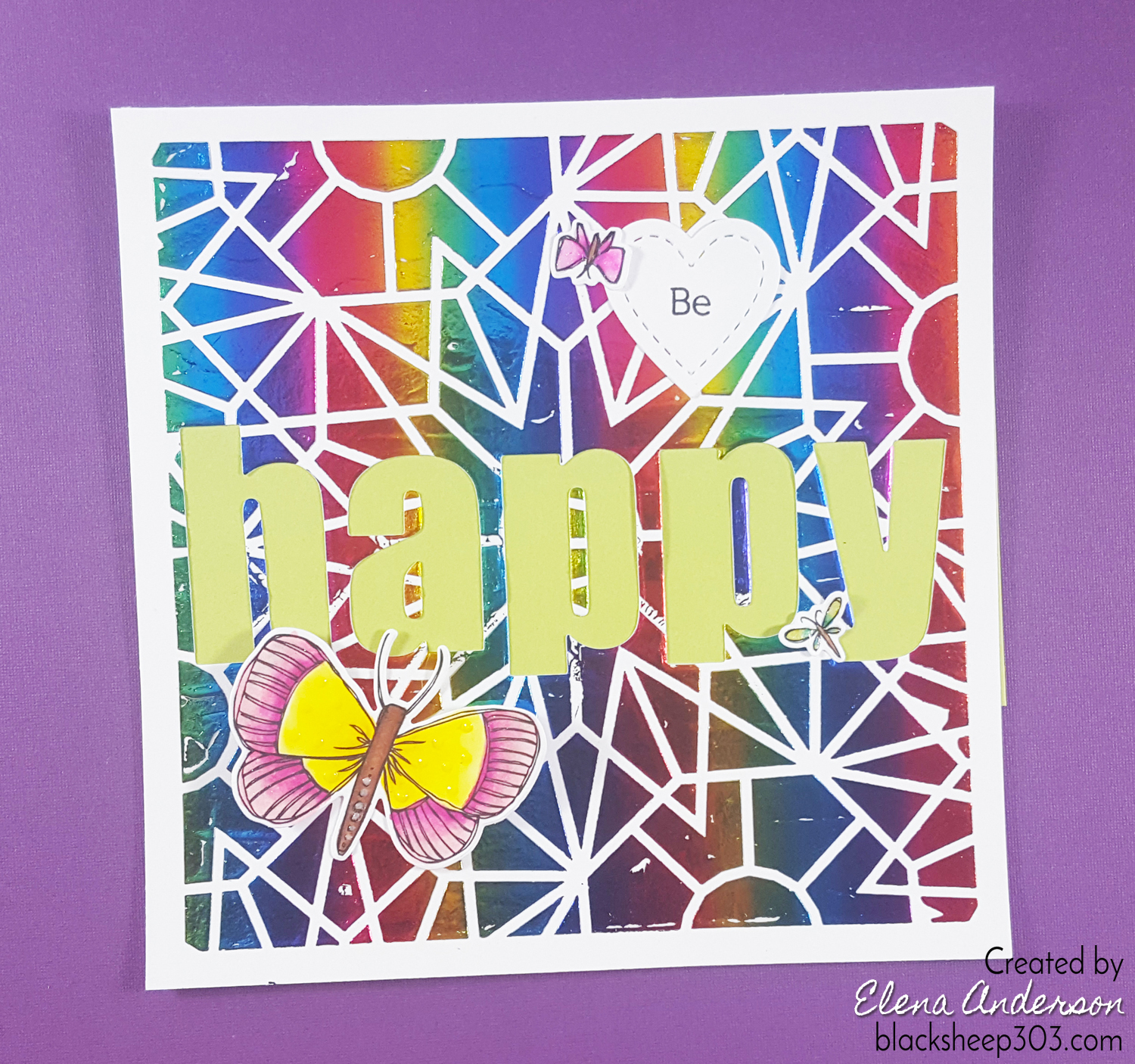 how to use deco foil transfer gel