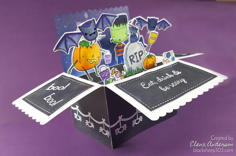 Halloween Pop-Up Box Card