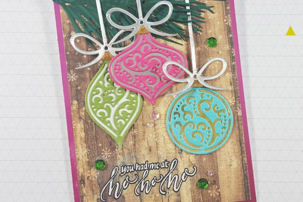 Non-Traditional Christmas Ornaments Card