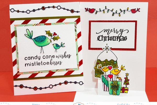 Elizabeth Craft Designs Pop-Ups Challenge Card