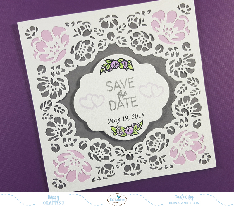 ModaScrap January Release Save the Date Card