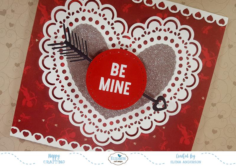 January Valentine Challenge for Elizabeth Craft Designs