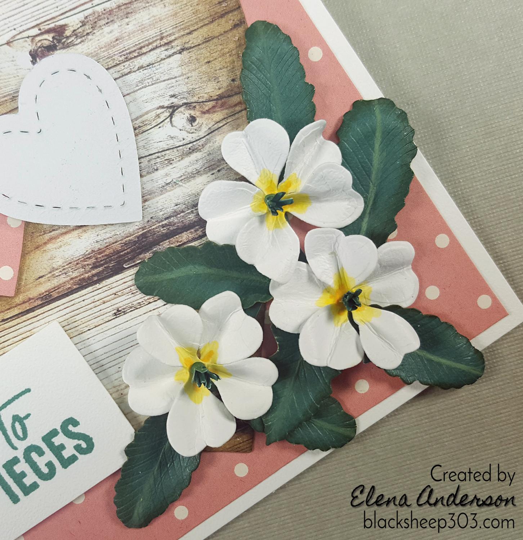 Garden Notes Primrose Valentine With Elizabeth Craft Designs