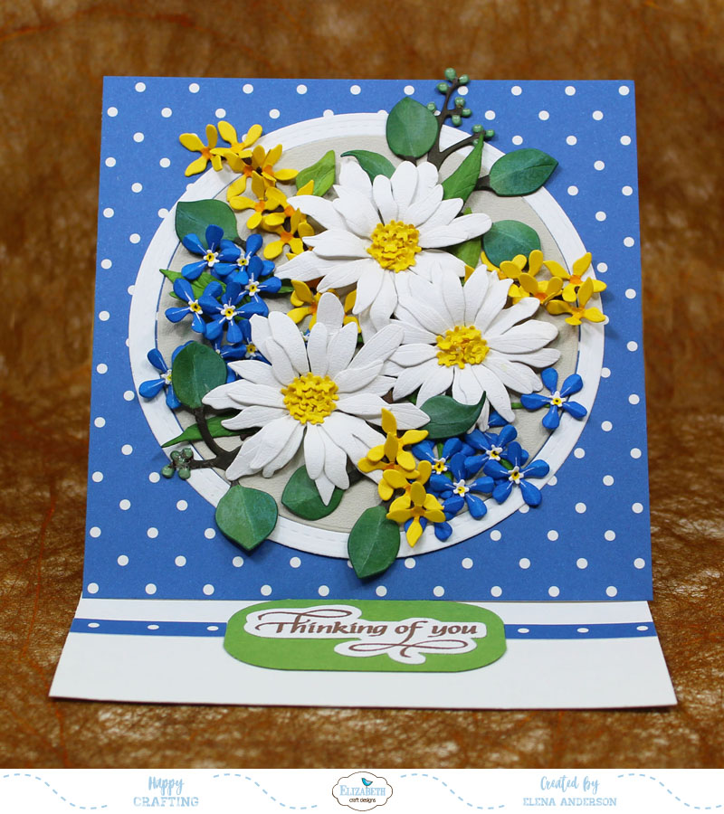 Garden Notes May 2018 New Release Card For Elizabeth Craft Designs
