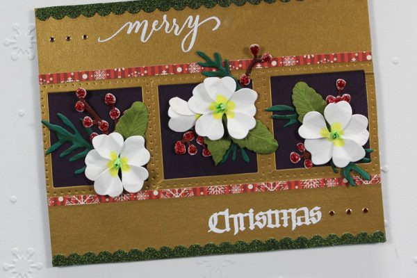 Garden Notes Frame It Christmas Card