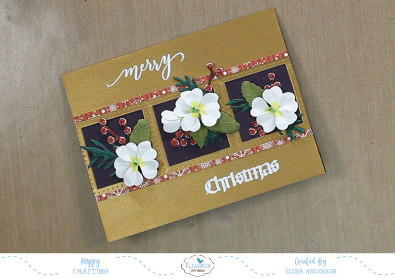 Garden Notes Frame It Christmas Card - Step 6