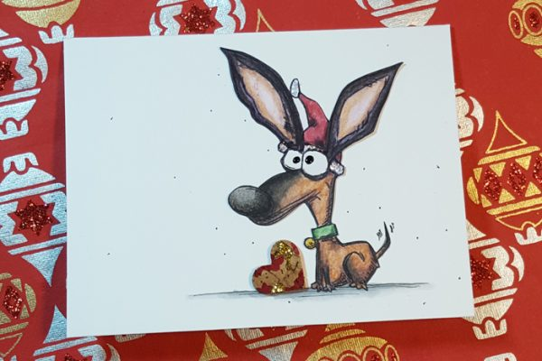 12 Days of Christmas Cards - Crazy Dog Christmas