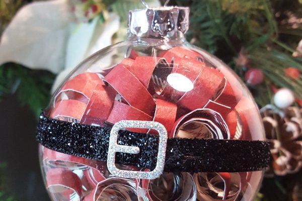 Super Easy Santa Ornament