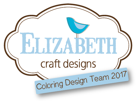 Elizabeth Craft Designs Coloring Design Team 2017