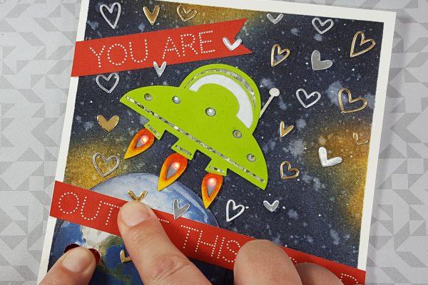 Chibitronics UFO Card