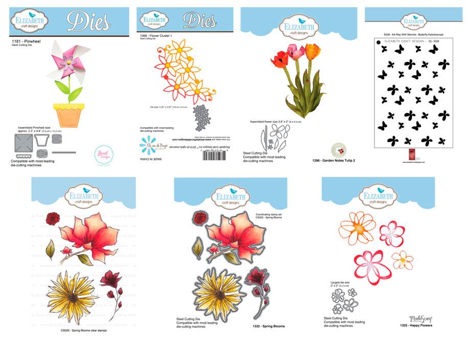 Fabulous Florals Giveaway Prizes